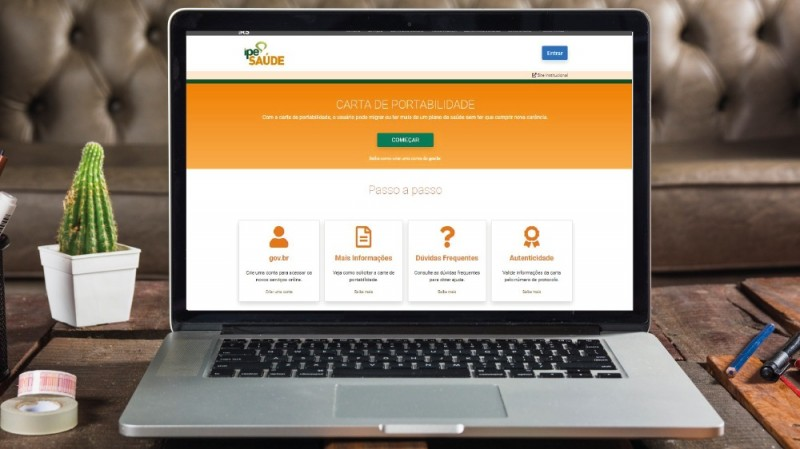 Usuários do IPE Saúde podem emitir carta de portabilidade de forma digital