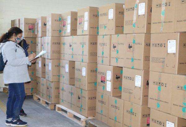 Estado recebe os 230 monitores comprados para leitos de UTI