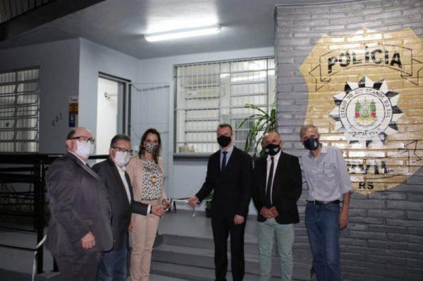 Polícia Civil inaugura nova sede da DP de Estrela