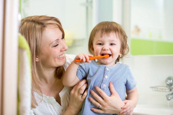 Higiene divertida para as crianças