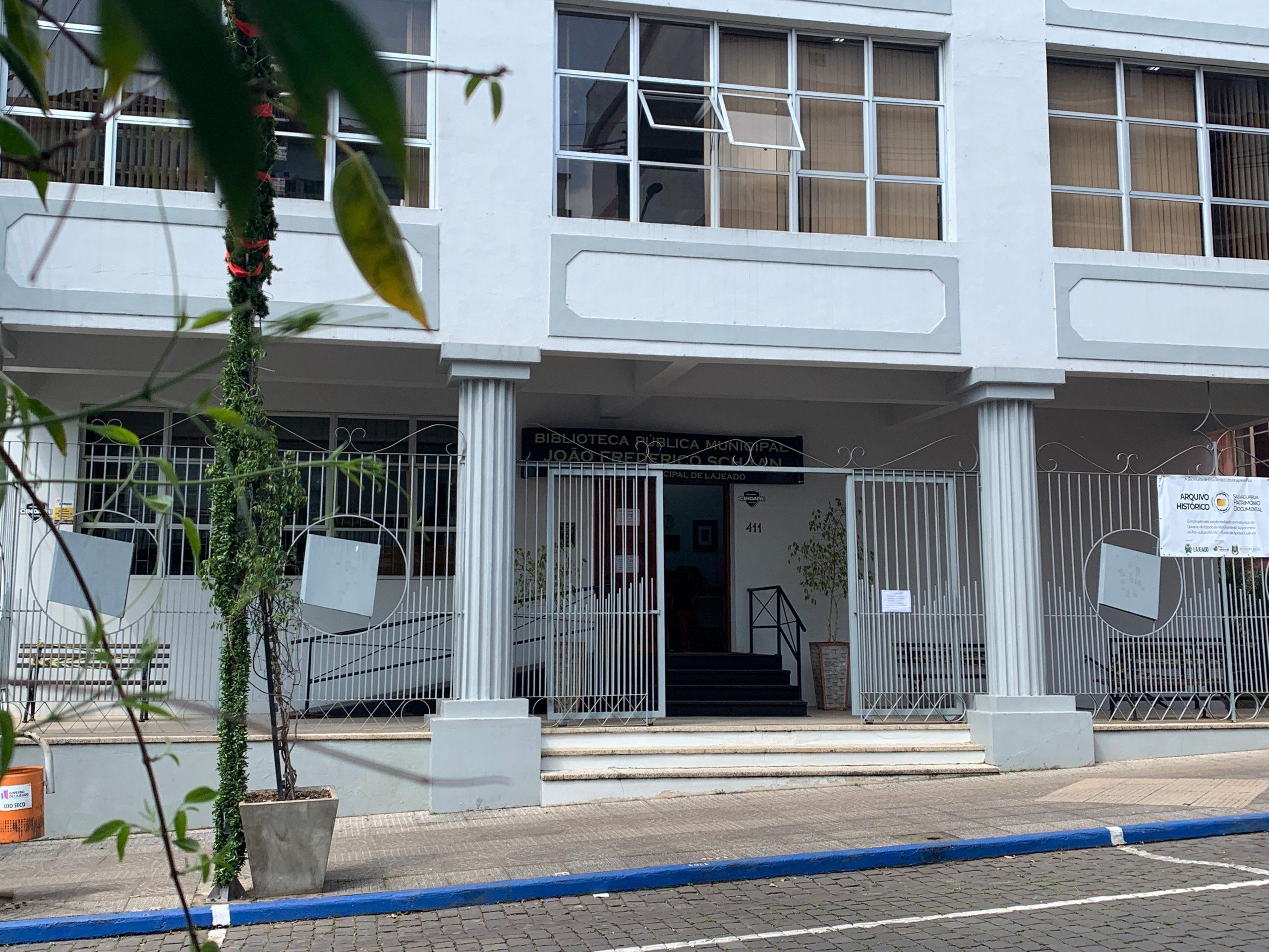 Biblioteca Pública de Lajeado está fechada temporariamente