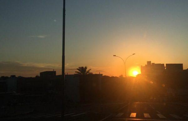 Quarta-feira de tempo firme e presença do sol