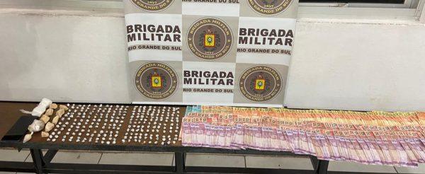 Homem é preso por tráfico de drogas em Estrela