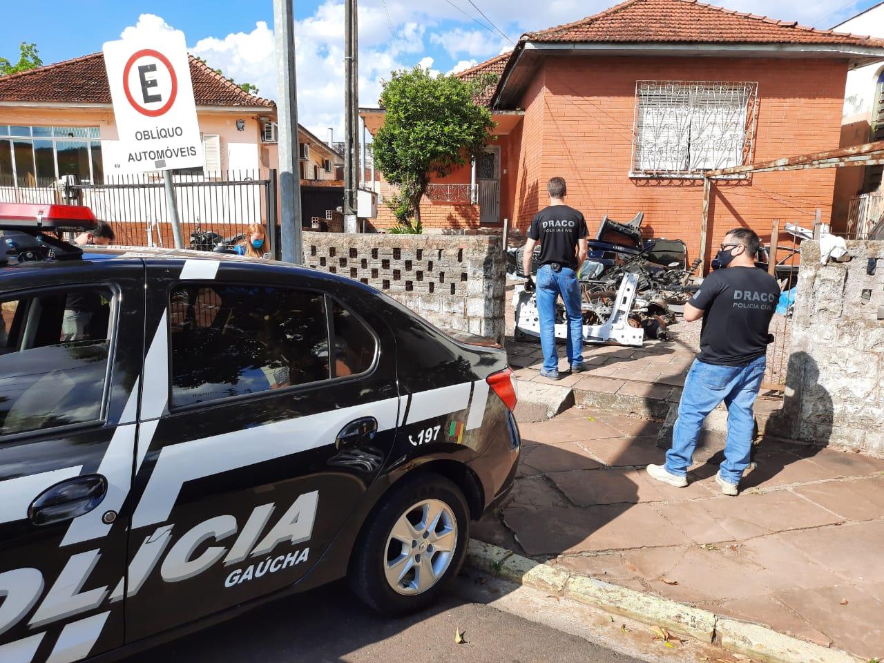 Draco deflagra ação contra desmanche de veículos de luxo em Lajeado