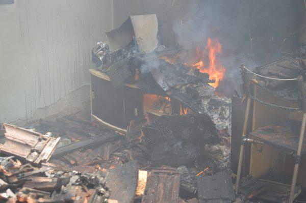 Vaquinha ajuda reforma de casa destruída por incêndio