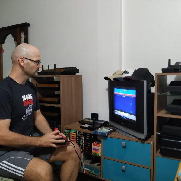 Colecionador tem mais de 60 Ataris