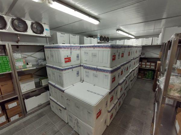 Vacinas começam a ser transportadas para regiões do RS