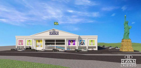 Obra da Havan começa em fevereiro em Lajeado