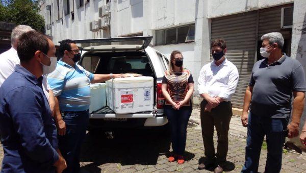 Vídeo: Chegam as doses da CoronaVac ao Vale do Taquari