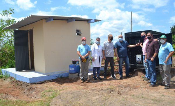 Novo poço artesiano reforça abastecimento no Santo Antônio
