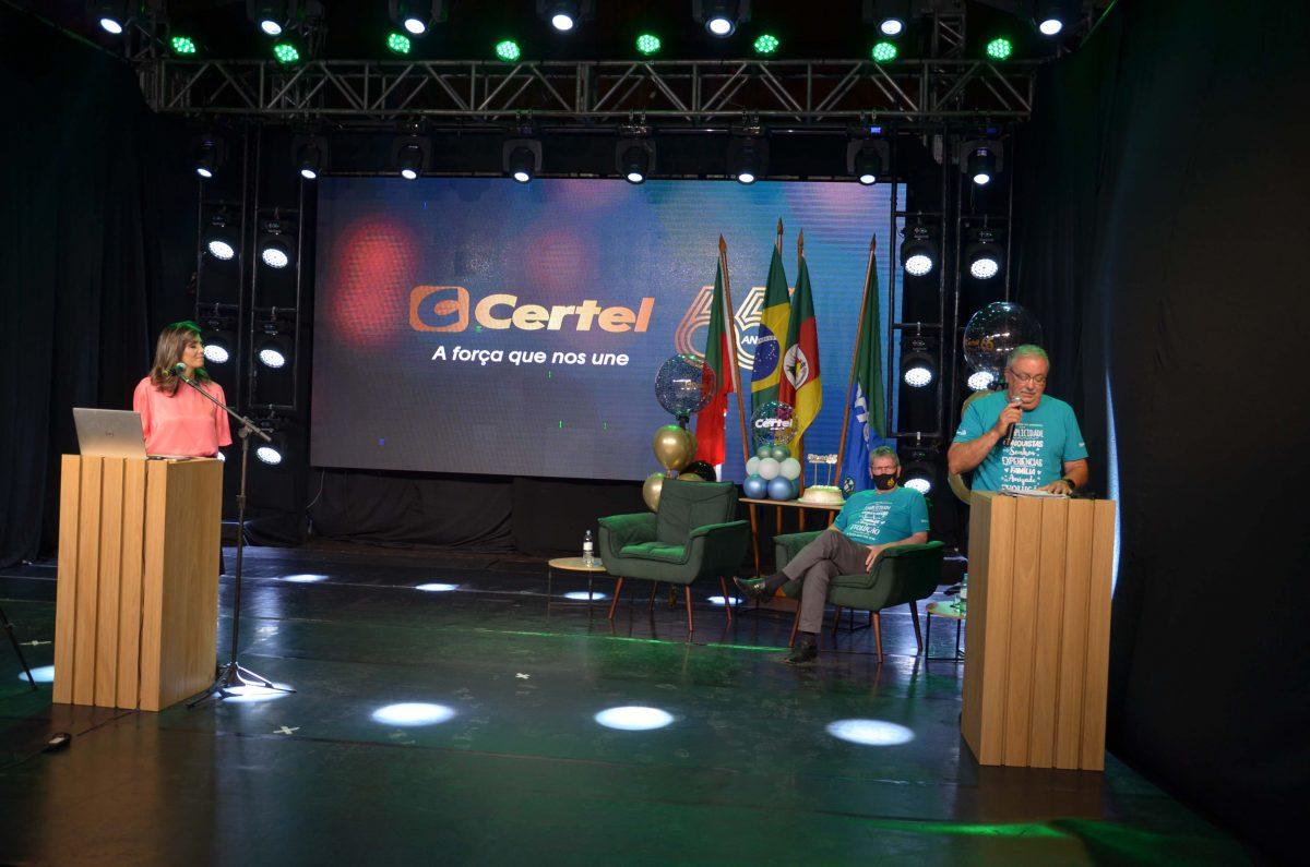 Mais de 66 mil pessoas prestigiaram lives do aniversário da Certel