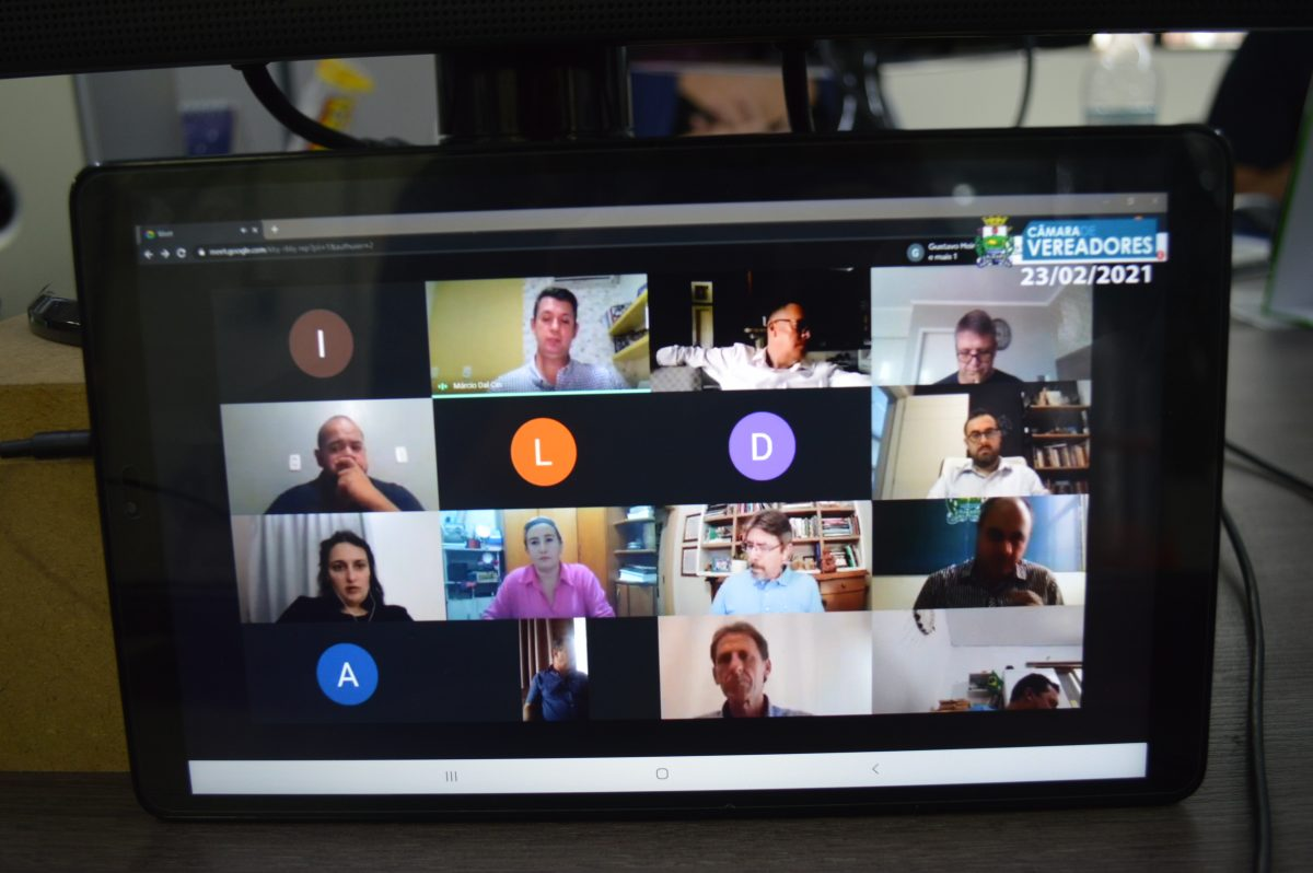 Câmara retoma sessões por videoconferência