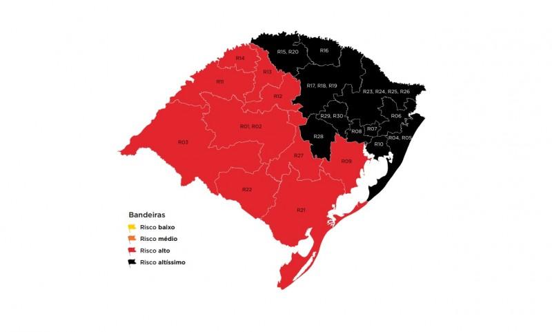 Estado confirma bandeira preta para o Vale, mas mantém cogestão