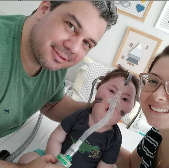 Família reforça pedido de ajuda para o tratamento de Matteo