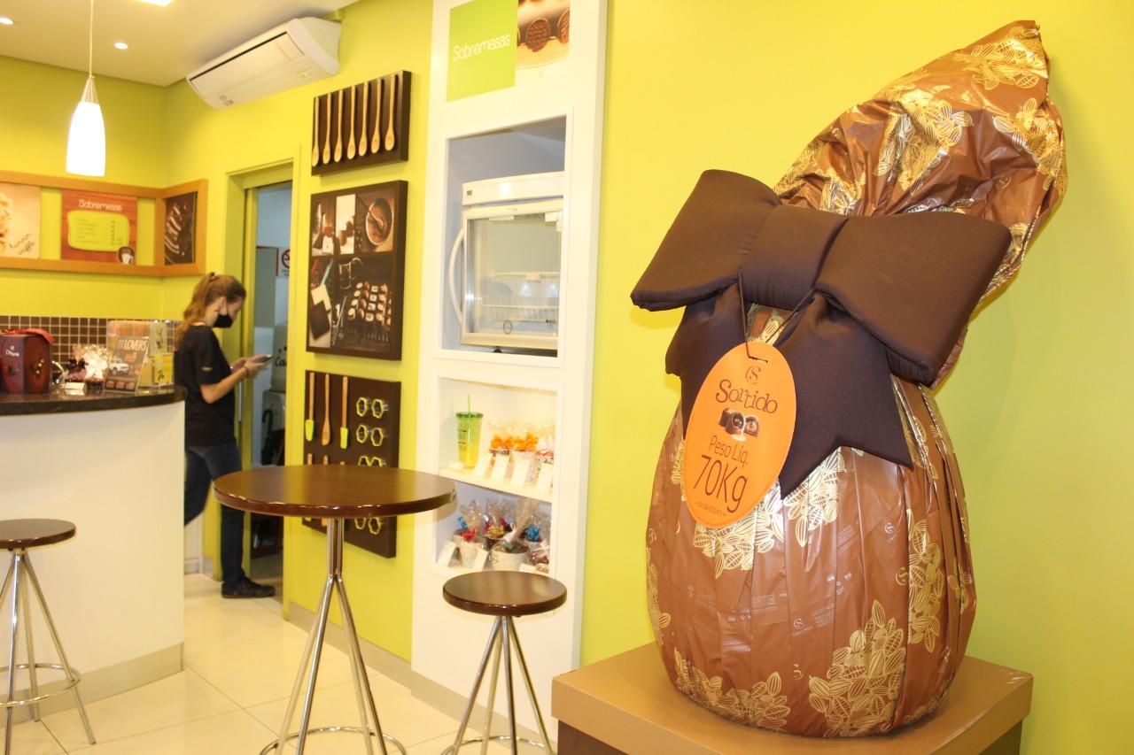 CDL Lajeado sorteia ovo de chocolate de 70 kg neste sábado