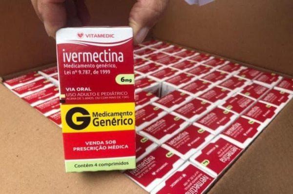 Grupo de médicos sugere ivermectina para conter contágios
