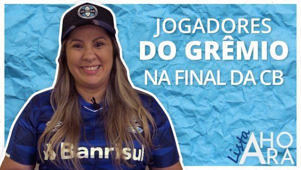 Jogadores do Grêmio para a final da Copa do Brasil, por Zully Abella – Lista A Hora #4