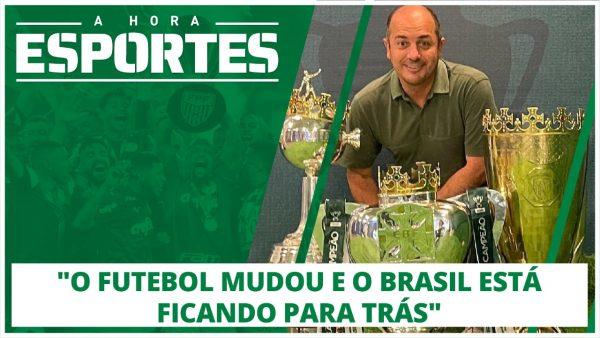 A HORA ESPORTES: Entrevista Cícero Souza