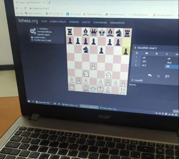 Santa Clara do Sul promove jogos escolares virtuais