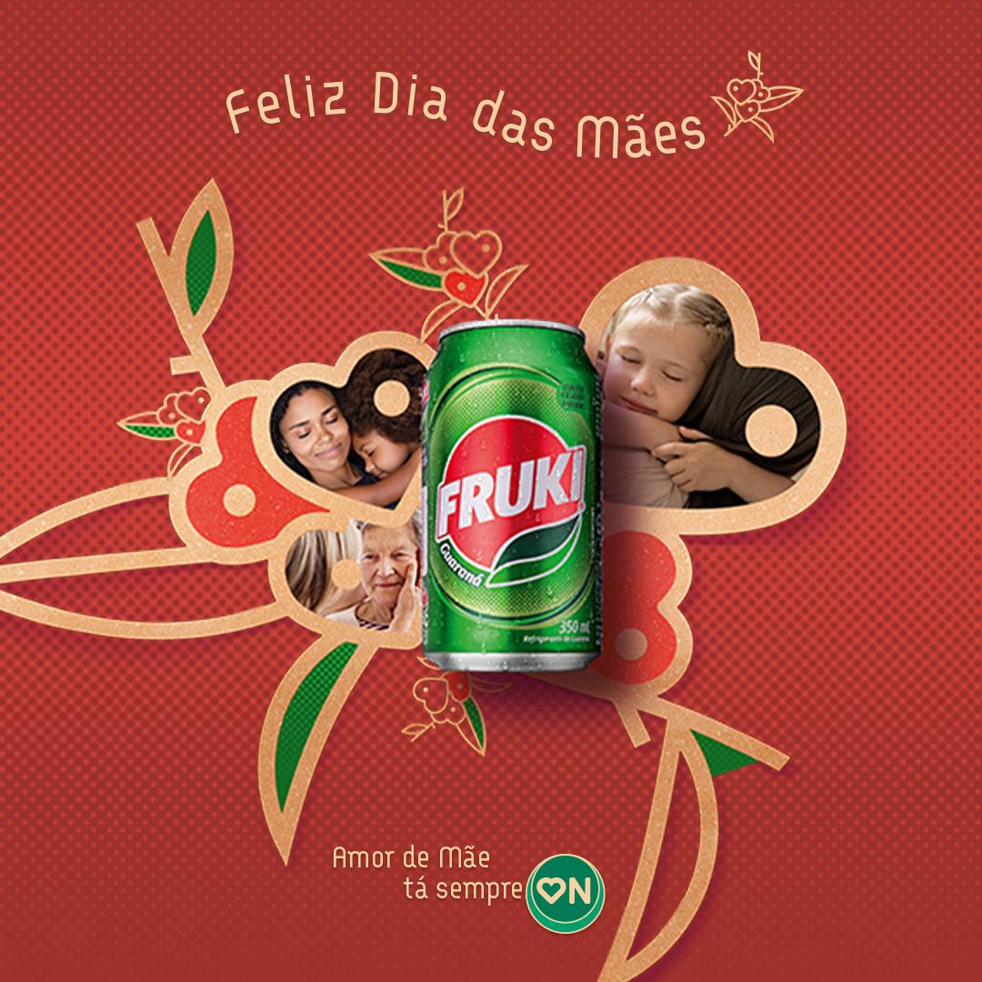 """""""Amor de mãe tá sempre on"""" é o tema de nova campanha da Fruki Guaraná"""