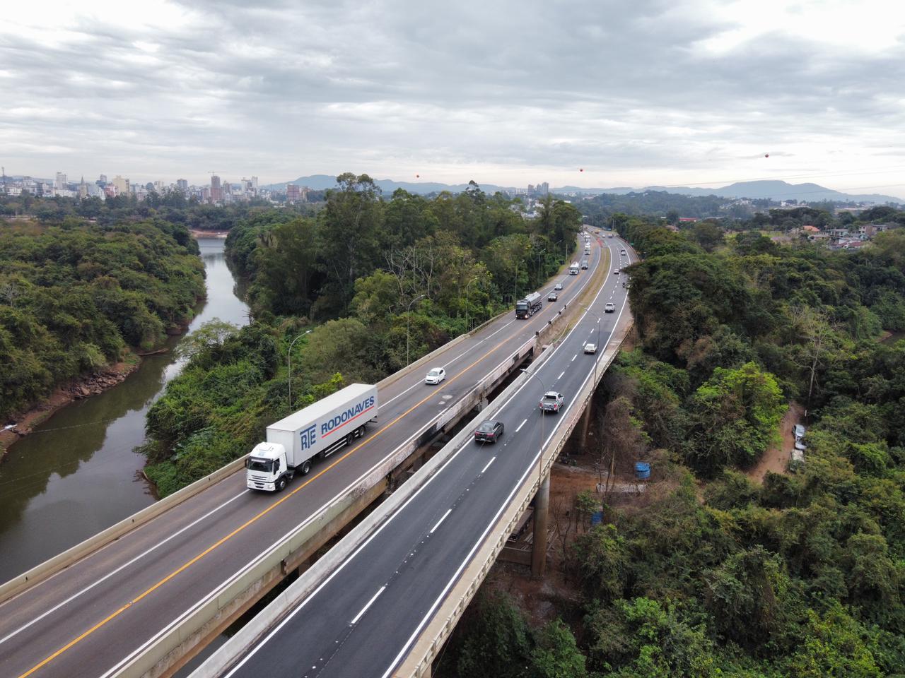 Liberado trânsito sobre a ponte do Arroio Boa Vista