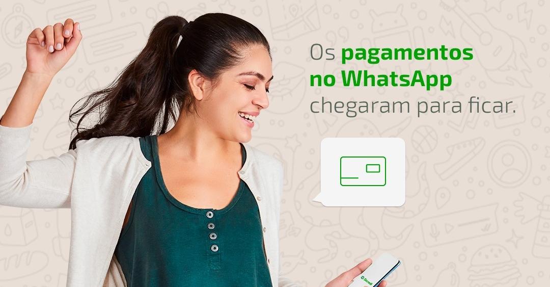 O que é o recurso de pagamento no WhatsApp?