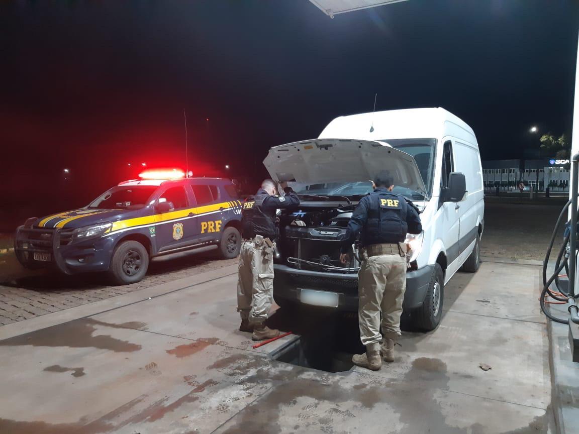 PRF recupera veículo roubado em Lajeado