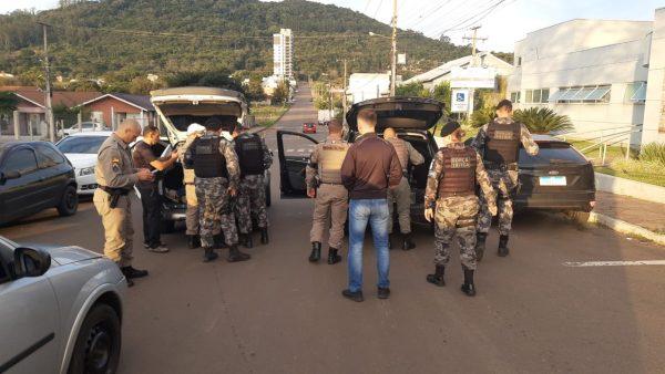 Polícia prende foragido de alta periculosidade em Teutônia