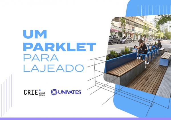 CRIE Smart Cities promove concurso para a criação de parklets