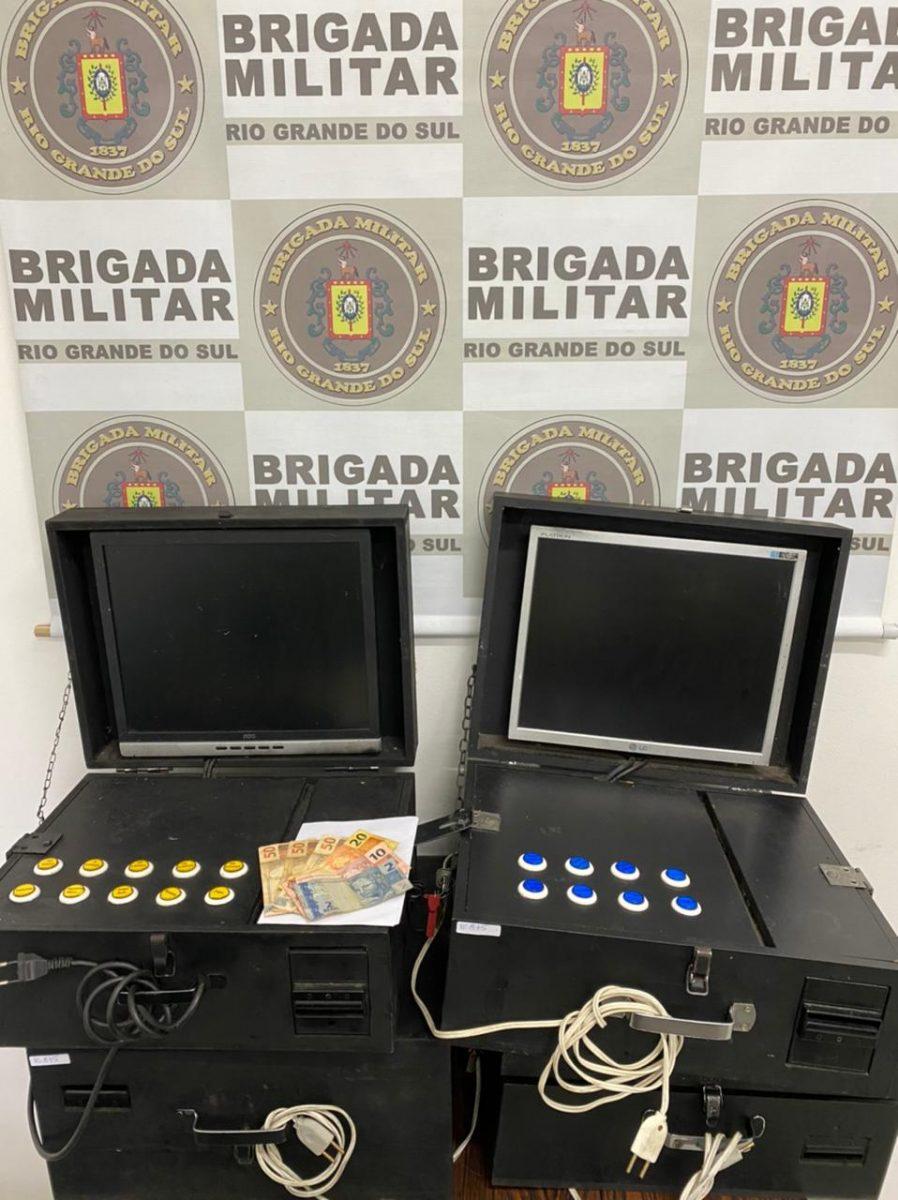 BM apreende máquinas caça-níquel em Teutônia