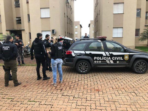 Homem é detido e celulares são apreendidos em operação da Polícia Civil e Brigada Militar