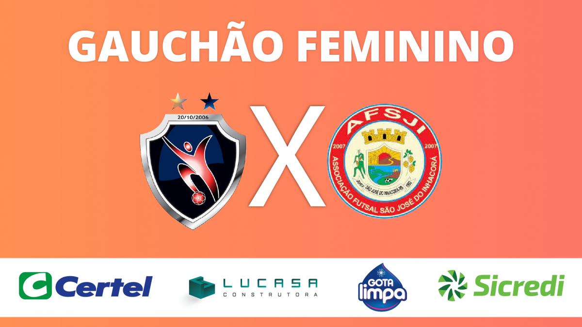 MELHORES MOMENTOS   ALAF 3 x 0 AFSJI   GAUCHÃO FEMININO DE FUTSAL