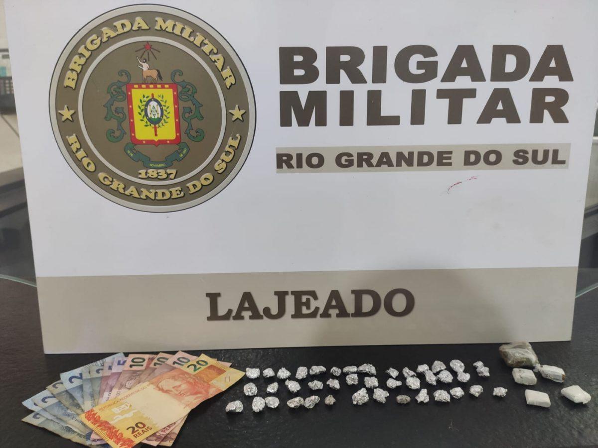 Dois homens são presos por tráfico de drogas em Lajeado