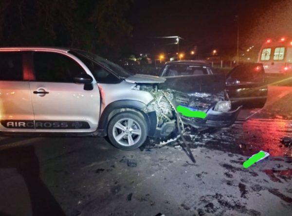 Colisão deixa motorista com ferimentos leves em Teutônia