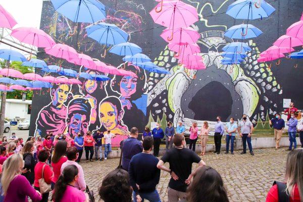 """Rua das Sombrinhas recebe a """"Chamada pela Vida"""""""
