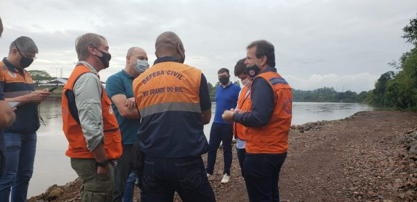 Representantes da Defesa Civil Nacional e Estadual visitam Lajeado